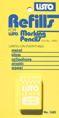 Wax Lead Replacements for Pencil -- Yellow