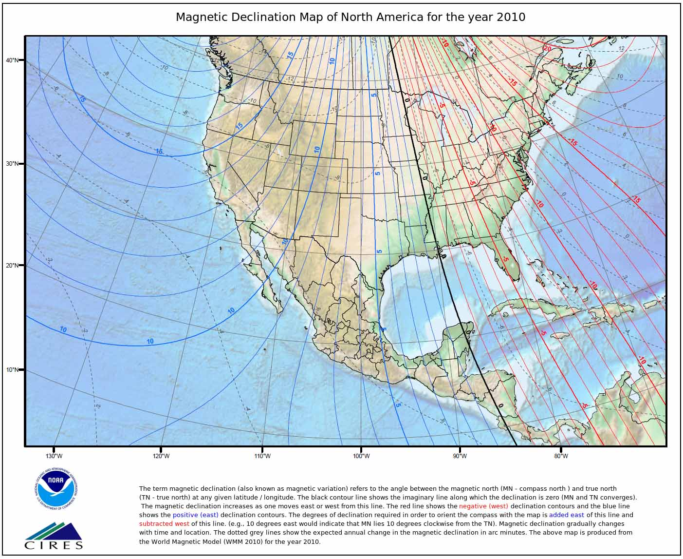 magnetic declination green trail maps email thisblogthis