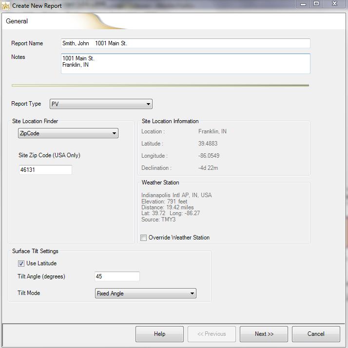 Solar Pathfinder - Assistant PV Software